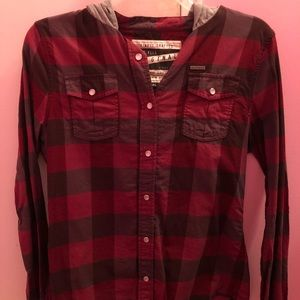 Glamour Kills Hooded Flannel